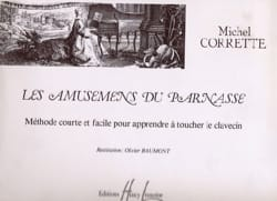 Michel Corrette - Amusements Of The Parnassus - Sheet Music - di-arezzo.com
