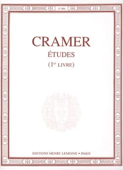 Etudes Volume 1 Jean-Baptiste Cramer Partition Piano - laflutedepan