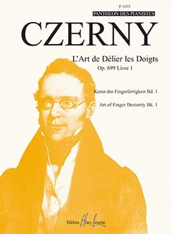 CZERNY - The Art of Untying the Fingers Opus 699. Volume 1 - Sheet Music - di-arezzo.com