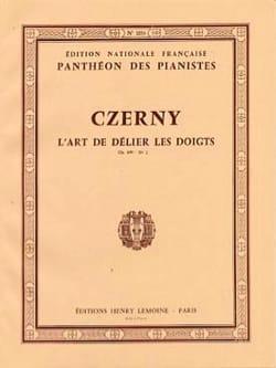 L'art de Délier les Doigts Opus 699. Volume 2 CZERNY laflutedepan