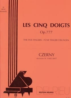 CZERNY - Les Cinq Doigts Opus 777 - Partition - di-arezzo.fr