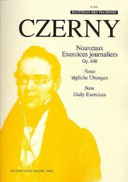 CZERNY - New Daily Exercises Opus 848 - Sheet Music - di-arezzo.com