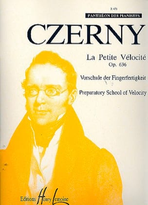 CZERNY - The Small Velocity Opus 636 - Partitura - di-arezzo.es