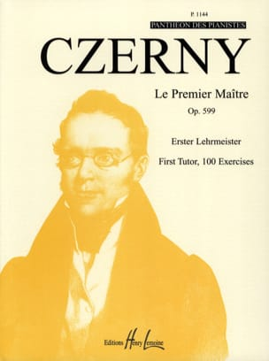 CZERNY - The First Master Opus 599 - Sheet Music - di-arezzo.co.uk
