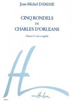 Jean-Michel Damase - 5 Rondels by Charles D'Orléans Opus 40 - Sheet Music - di-arezzo.com