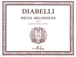 Anton Diabelli - Melodías Opus 149. 4 manos - Partitura - di-arezzo.es