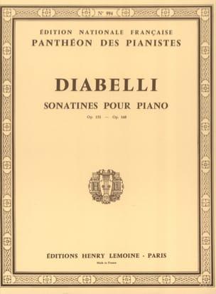 Anton Diabelli - Sonatines Opus 151 and 168 - Sheet Music - di-arezzo.co.uk