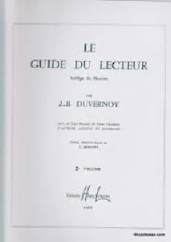 DUVERNOY - Volume 2 Reader's Guide - Partition - di-arezzo.co.uk
