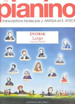 Anton Dvorak - Symphonie du Nouveau Monde : Largo - Pianino 120 - Partition - di-arezzo.fr
