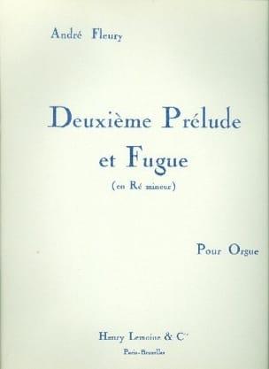 Prélude et Fugue N°2 André Fleury Partition Orgue - laflutedepan