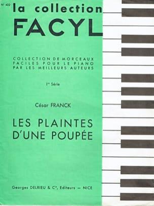 César Franck - Les Plaintes D'une Poupée - Partition - di-arezzo.fr