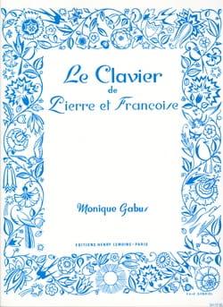 Le Clavier de Pierre et Françoise Monique Gabus Partition laflutedepan