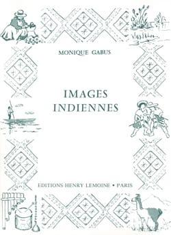 Images Indiennes Monique Gabus Partition Piano - laflutedepan