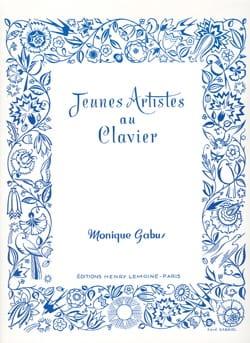 Jeunes Artistes au Clavier Monique Gabus Partition laflutedepan