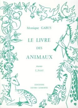 Monique Gabus - 動物冊1巻 - 楽譜 - di-arezzo.jp