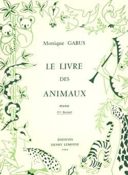 Livre des Animaux Volume 2 Monique Gabus Partition laflutedepan