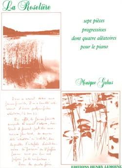 La Roselière Monique GABUS Partition Piano - laflutedepan