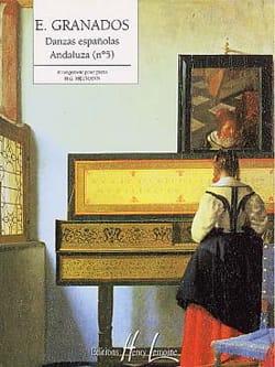 Andaluza - GRANADOS - Partition - Piano - laflutedepan.com