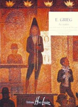 Edward Grieg - Au Matin - Partition - di-arezzo.fr