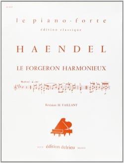L' Harmonieux Forgeron HAENDEL Partition Piano - laflutedepan