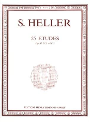 25 Etudes Opus 47-1 et 47-2 - Stephen Heller - laflutedepan.com