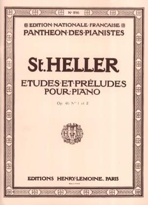 30 Etudes et Préludes Progressives Opus 46 Stephen Heller laflutedepan