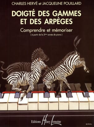 HERVÉ - POUILLARD - Fingering of Ranges and Arpeggios - Sheet Music - di-arezzo.com