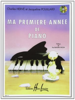 HERVÉ - POUILLARD - My first year of Piano - Sheet Music - di-arezzo.com