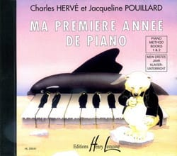 HERVÉ - POUILLARD - My first year of Piano - CD - Sheet Music - di-arezzo.com