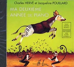 HERVÉ - POUILLARD - My 2nd year of Piano. CD - Sheet Music - di-arezzo.co.uk