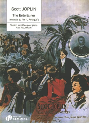 The Entertainer - Scott Joplin - Partition - Piano - laflutedepan.com