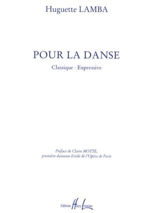 Huguette Lamba - Pour la Danse - Partition - di-arezzo.fr