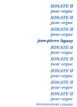 Jean-Pierre Leguay - Sonate 2 - Partition - di-arezzo.fr