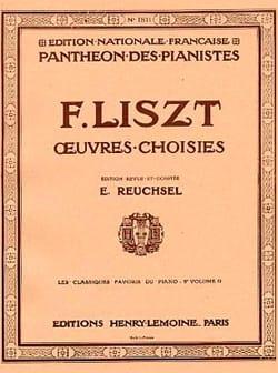 Franz Liszt - Classiques Favoris Volume 9d - Partition - di-arezzo.fr