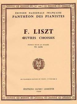 Classiques Favoris Volume 9b - Franz Liszt - laflutedepan.com