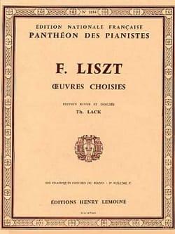 Classiques Favoris Volume 9c - Franz Liszt - laflutedepan.com