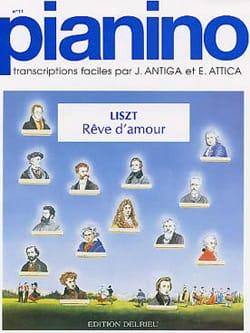 Rêve d'Amour - Pianino 11 Franz Liszt Partition Piano - laflutedepan
