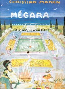 Christian Manen - Mégara - Partition - di-arezzo.fr