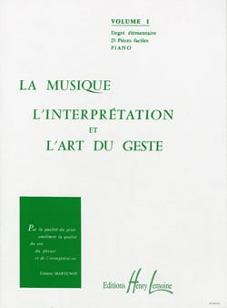 Ginette Martenot - Music, Interpretation and the Art of Gesture Volume 1 - Sheet Music - di-arezzo.co.uk