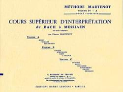Etude Vivante du Piano - Volume 4 A Ginette Martenot laflutedepan