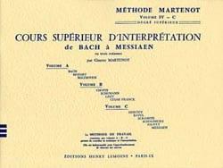 Etude Vivante du Piano - Volume 4-C. Ginette Martenot laflutedepan