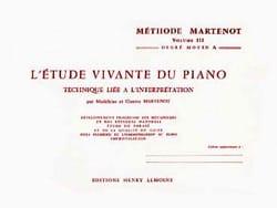 Etude Vivante du Piano - Volume 3A - laflutedepan.com