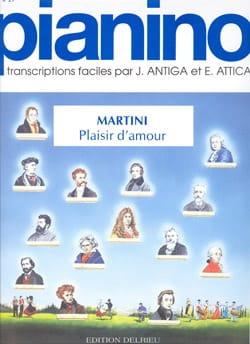 Plaisir D'amour Pianino 29 - Martini - Partition - laflutedepan.com