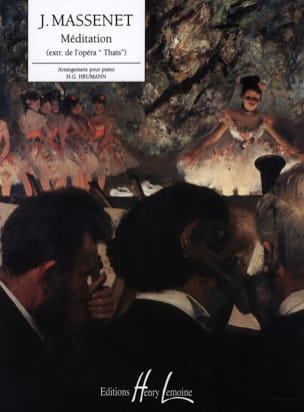 Méditation De Thaïs - Jules Massenet - Partition - laflutedepan.com