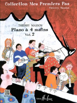 Thierry Masson - My First Steps Volume 2. 4 Hands - Sheet Music - di-arezzo.com