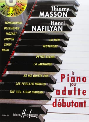 Le Piano pour Adulte Débutant MASSON - NAFILYAN Partition laflutedepan