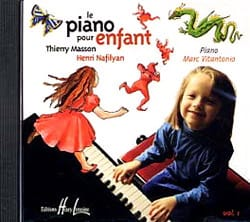 Piano Pour Enfant Volume 1 Cd MASSON - NAFILYAN Partition laflutedepan