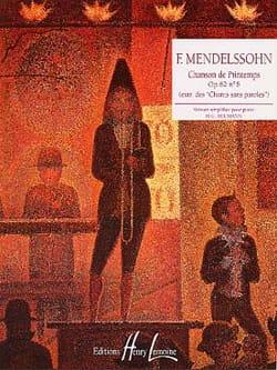 MENDELSSOHN - Song of Spring Opus 62-6 - Sheet Music - di-arezzo.co.uk