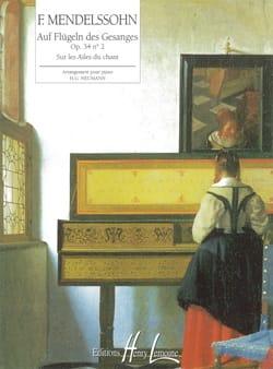 Sur les Ailes Du Chant Opus 34-2 - MENDELSSOHN - laflutedepan.com
