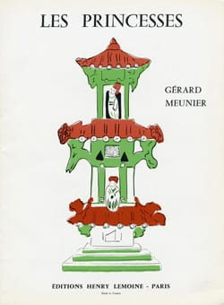 Gérard Meunier - Princesses - Partition - di-arezzo.co.uk